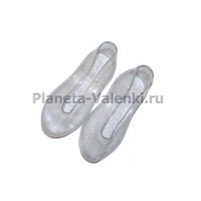 Калоши резиновые прозрачные